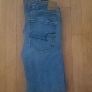 American Eagle Super stretch Skinny Jean's